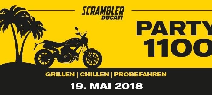 Scrambler 1100 Party