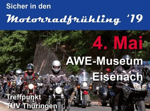 Motorrad-Aktionstag TÜV Thüringen