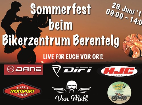 Sommerfest beim Bikerzentrum Berentelg