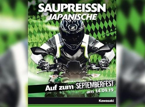 Septemberfest bei Kawasaki - am 14.09.19
