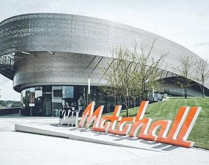 KTM Motohall in Mattighofen Motohall