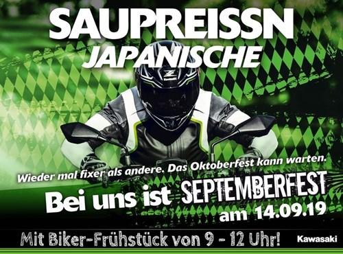 Septemberfest bei Kawasaki in Gera