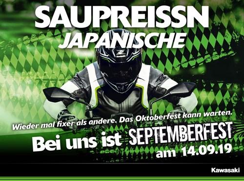 Kawasaki Septemberfest 2019 bei BPR-Bikes