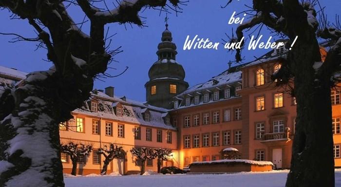 Weihnachtsfeier 2019 bei Witten u. Weber