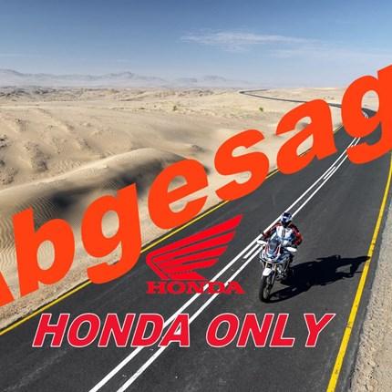 Ausfahrt Honda Only  ABGESAGT