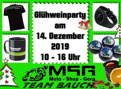 Glühwein-Party bei MSG