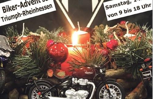 Biker-Advent bei Triumph Rheinhessen