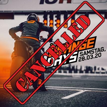 KTM ORANGEDAY 2020  KTM ORANGE DAYS 2020 am 28. März 2020 **Aufgrund der aktuellen Situation und des amtlichen Veranstaltungsverbotes der Stadt Bayreuth, bezüglich ...
