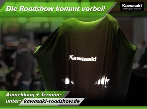 Kawasaki Radshow Neuvorstellung der 2020er Modelle