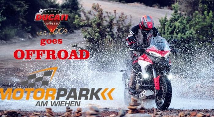 Ducati Melle goes Offroad