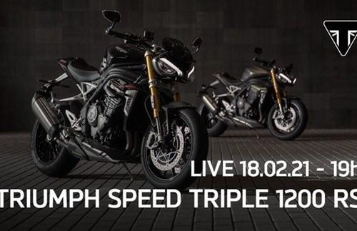 Youtube LIVE Präsentation der neuen Speed Triple 1200 RS