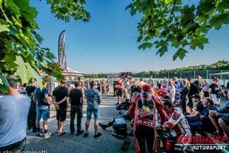 Motorradtraing  Training Anneau du Rhin