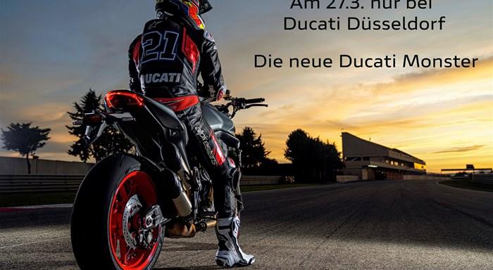 Die neue Ducati Monster