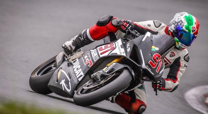 Mit Ducati SH nach Almeria / Spanien